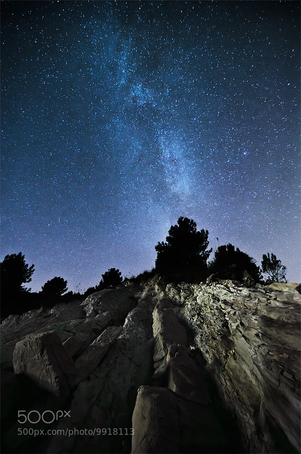 Landslide of Stars by Stefano  Vita (StefanoVita)) on 500px.com