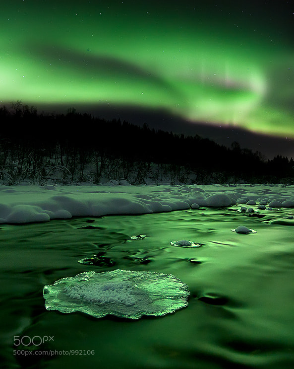 Photograph Emerald River by Arild Heitmann on 500px