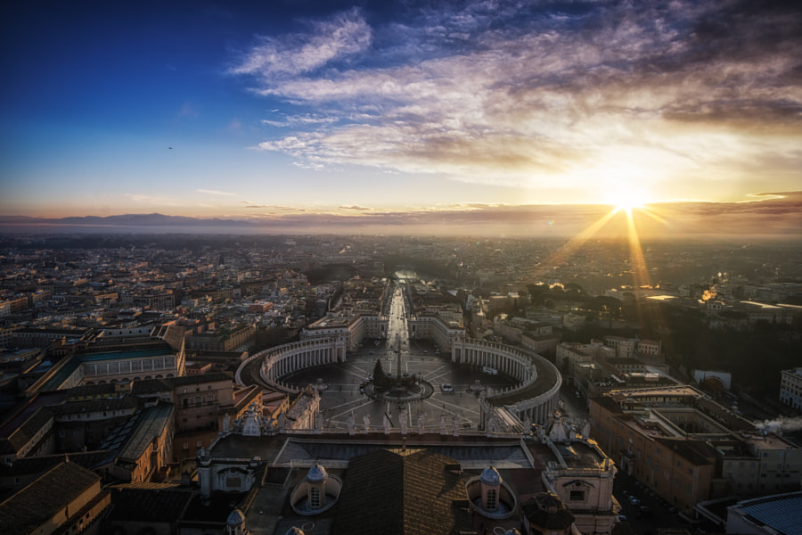 Photograph Rome rising by Aaron Choi on 500px