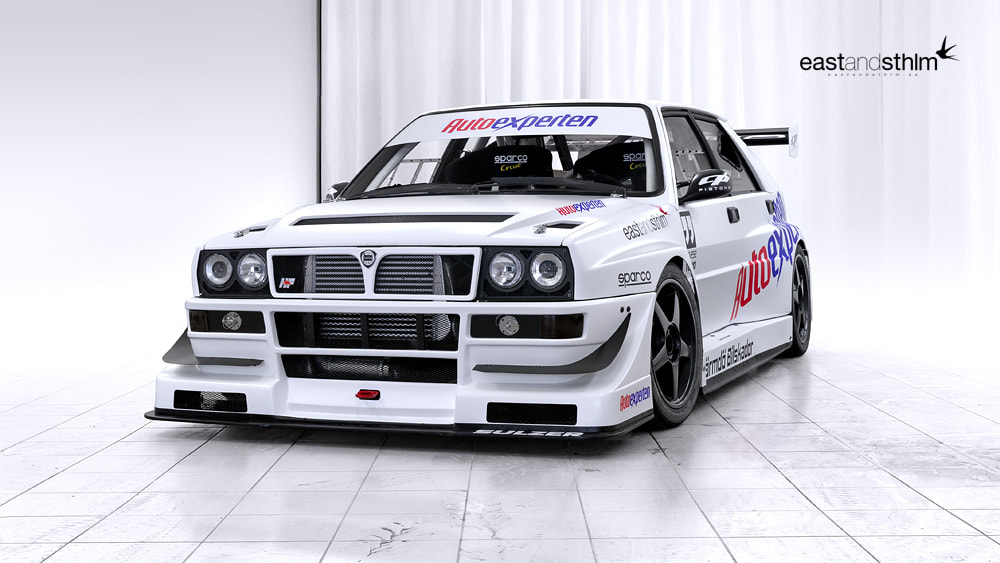 Photograph lancia delta timeattack by eastandsthlm  on 500px