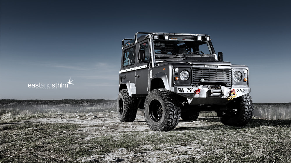 Photograph defender 4x4 by eastandsthlm  on 500px