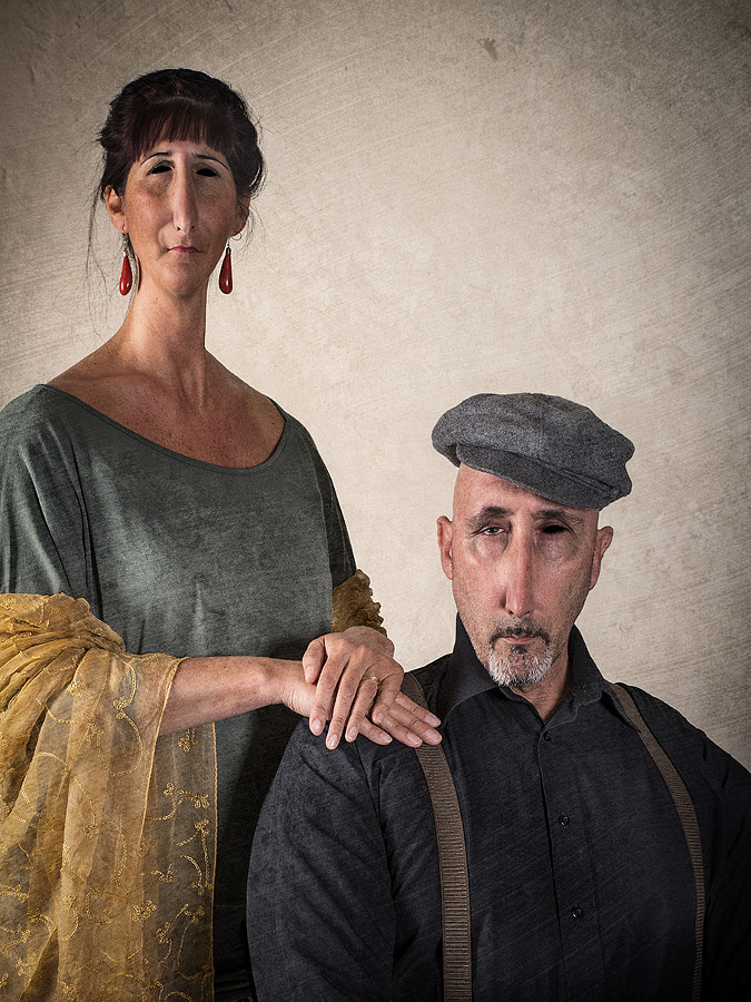 Portrait of Man with Wife.