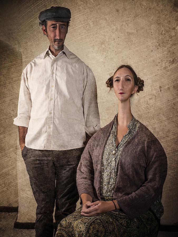 Portrait of Matteo Giunti & Lisa Lille.