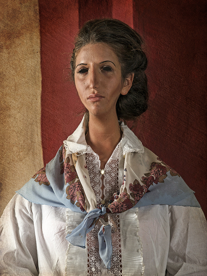 Portrait of Young Brunette