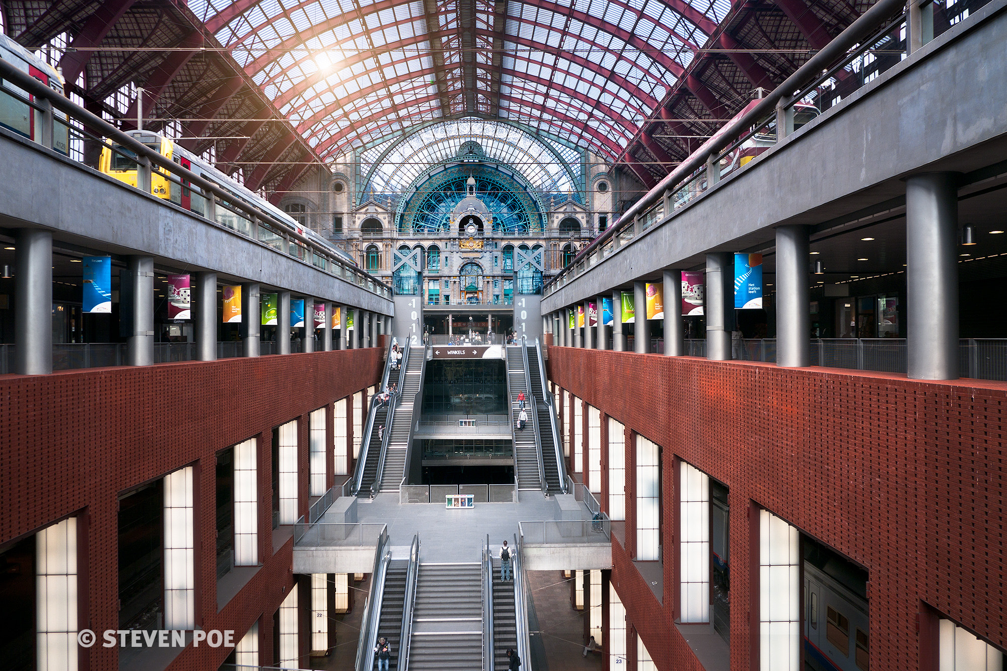 Photograph Antwerpen Station by Steven Poe on 500px