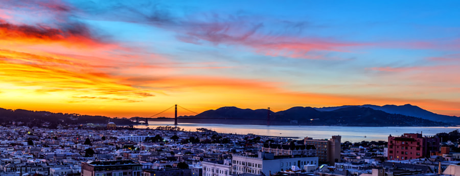 Photograph SF Bay Panorama by T. Malachi Dunworth  on 500px