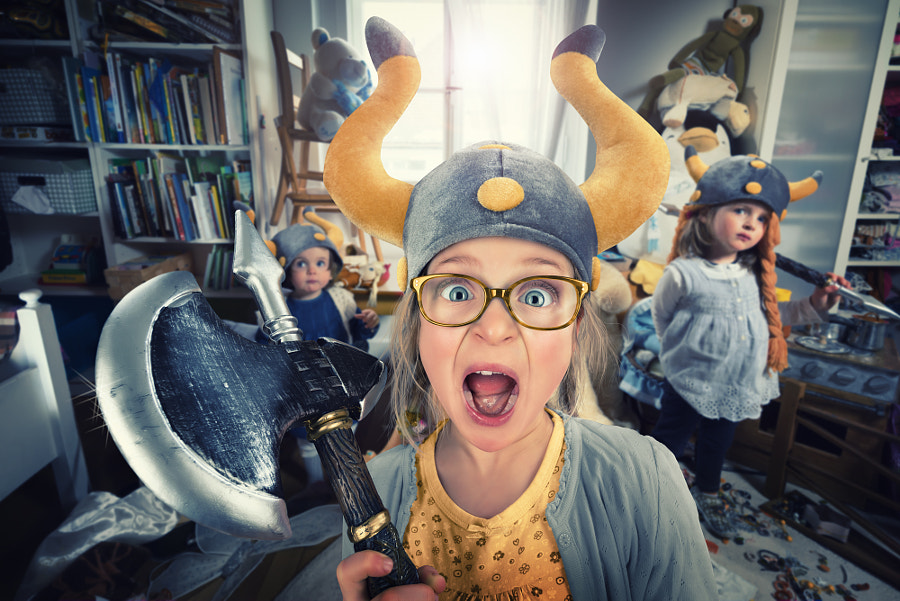 NO DAD! Vikings do not clean their rooms! by John Wilhelm is a photoholic on 500px.com