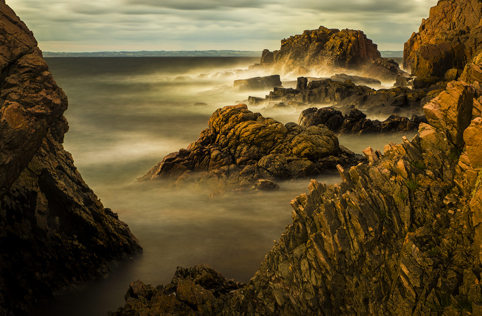Photograph Waves coming in by petersamuelsson.se  on 500px