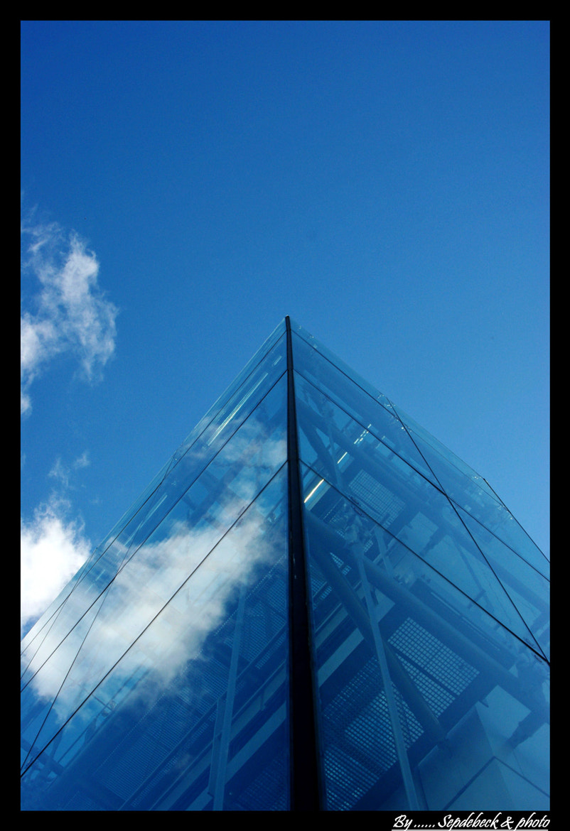Photograph Glass and Sky ... by Joseph Muller on 500px