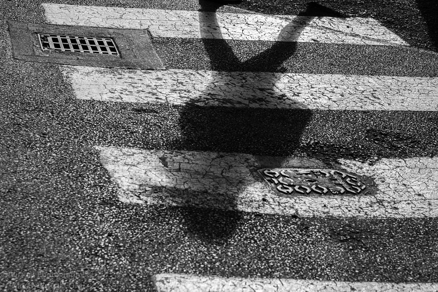 Photograph Shadow on crosswalk by Claudiu Ciungan on 500px