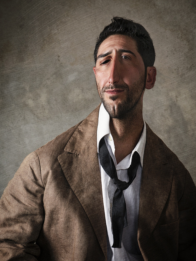 Man with Small Tie