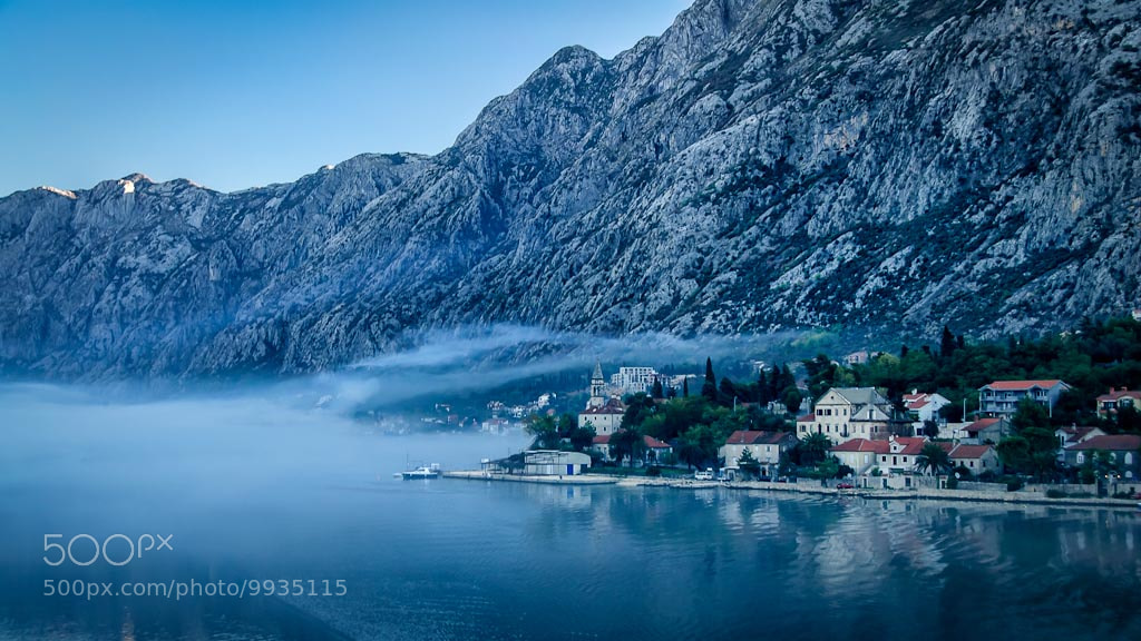 Photograph Blue Fog by Len Saltiel on 500px