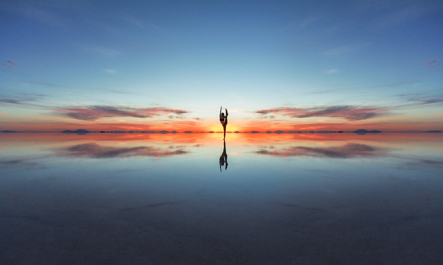 Photograph Uyuni yoga by Eric  Paré on 500px