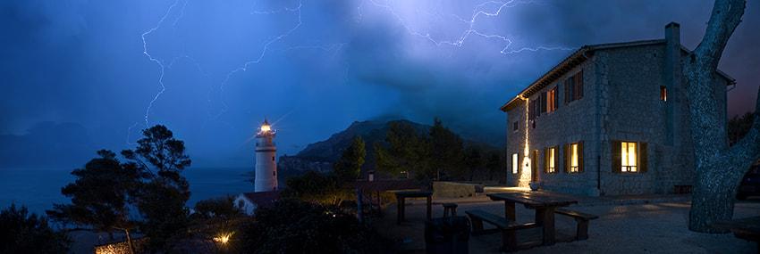 Lighting Storm over Port Sollèr