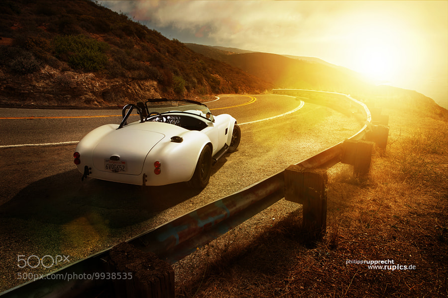 Photograph Shelby Cobra @ mulholland highway  by Philipp Rupprecht on 500px