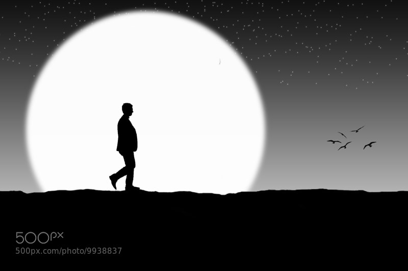 Photograph moon walker by Wilsen Way on 500px