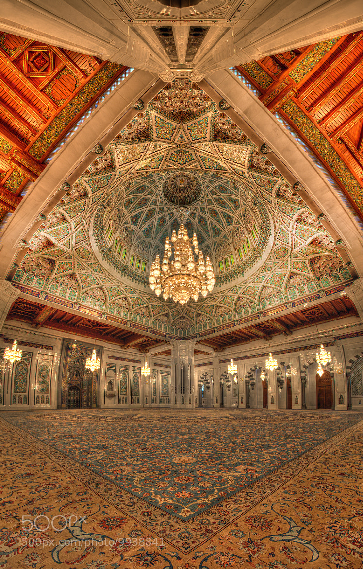 Photograph Inside Of Qaboos Grand Mosque by Hussain Al Bahrani on 500px