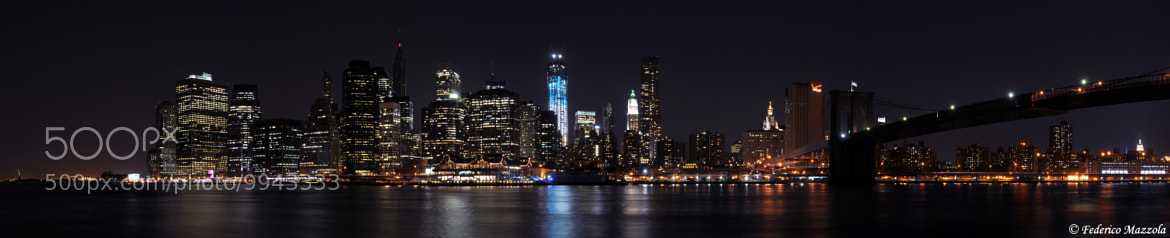Photograph The city that never sleeps by Federico Mazzola on 500px