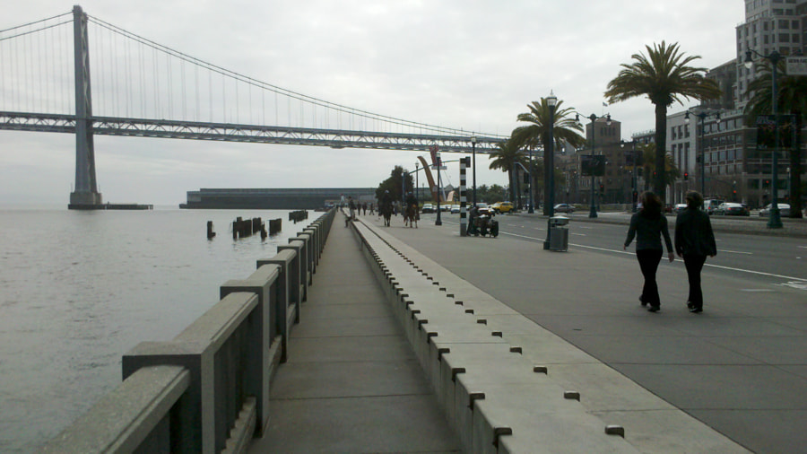 Photograph Quiet along the Embarcadero by James Harris on 500px
