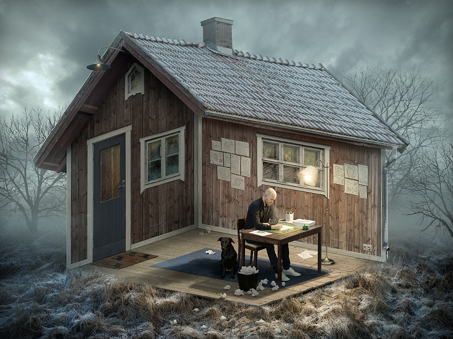 the Architect by Erik Johansson on 500px.com