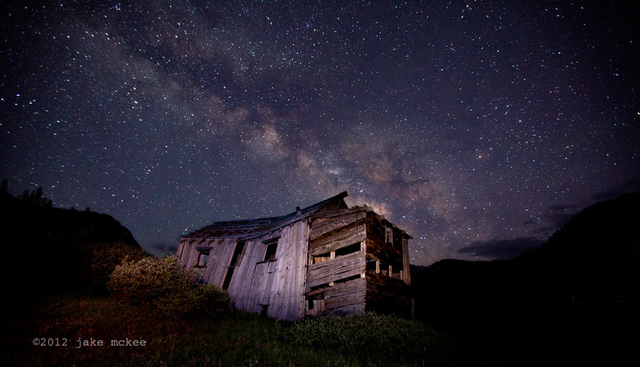 Photograph Milky Way over Summitville by Jake  McKee on 500px