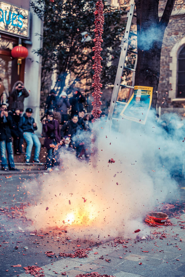 Chinese new year, Paris