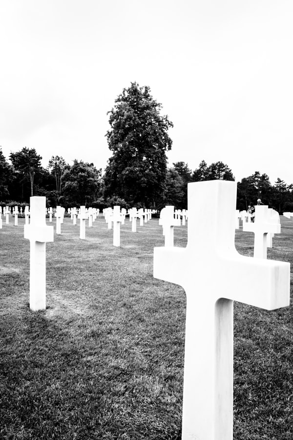 American cemetery, Colleville-sur-Mer