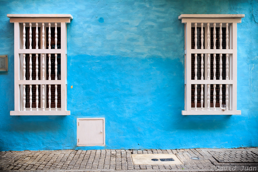 Photograph Blue wall by David Juan on 500px