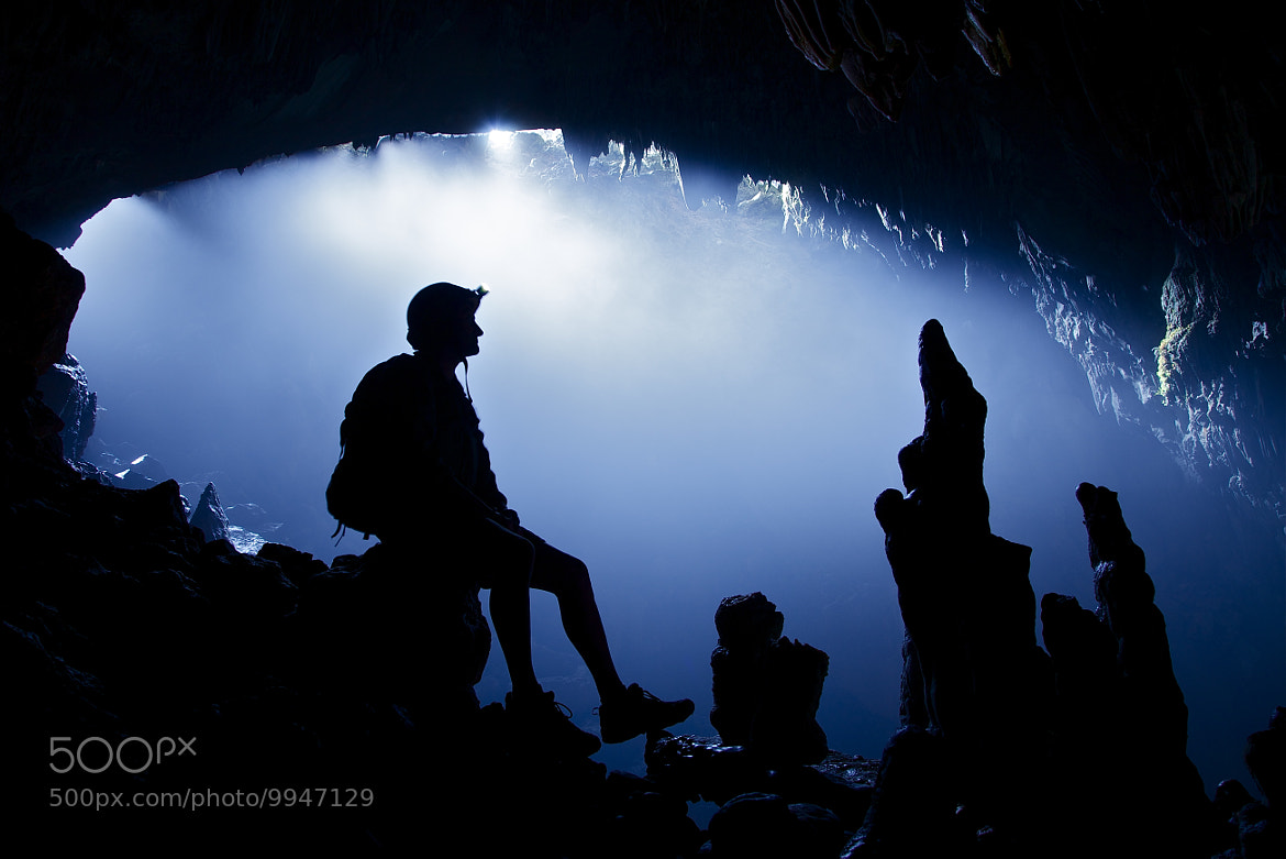 Photograph The caver by john spies on 500px