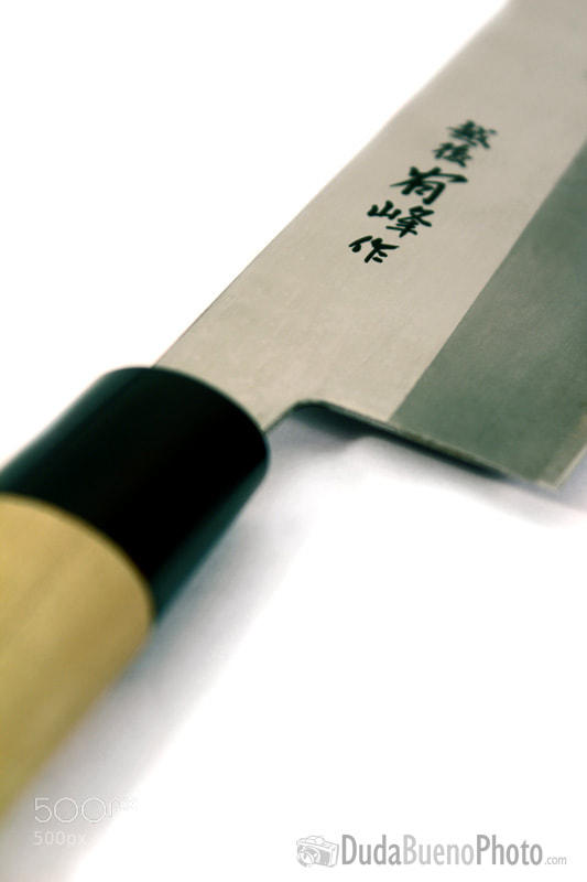 Photograph Nakiri knife by Duda Bueno on 500px
