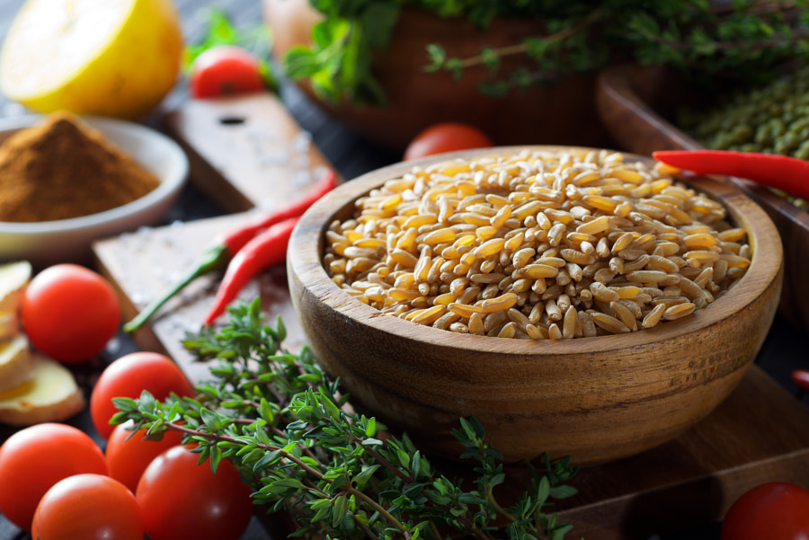 Photograph grains and herbs... by Roman Bilan on 500px