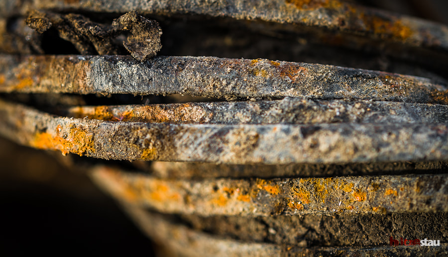 Photograph Rusty Metal Ribbons by hitzestau on 500px