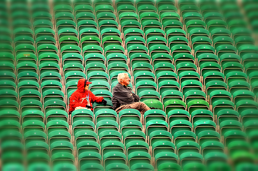 Photograph The Best Seats by Rory McDonald on 500px