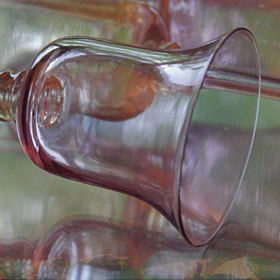Reflected Vision ~ Glass Goblet by Julia Adamson (AumKleem) on 500px.com