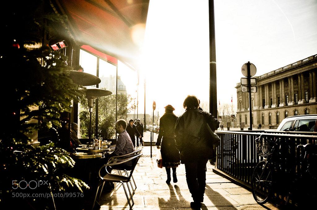 Photograph Sunset Café by Mike Hutch on 500px