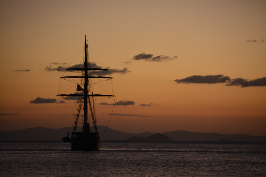Photograph Sailing ship @ whitsunday islands by Karel Billiet on 500px