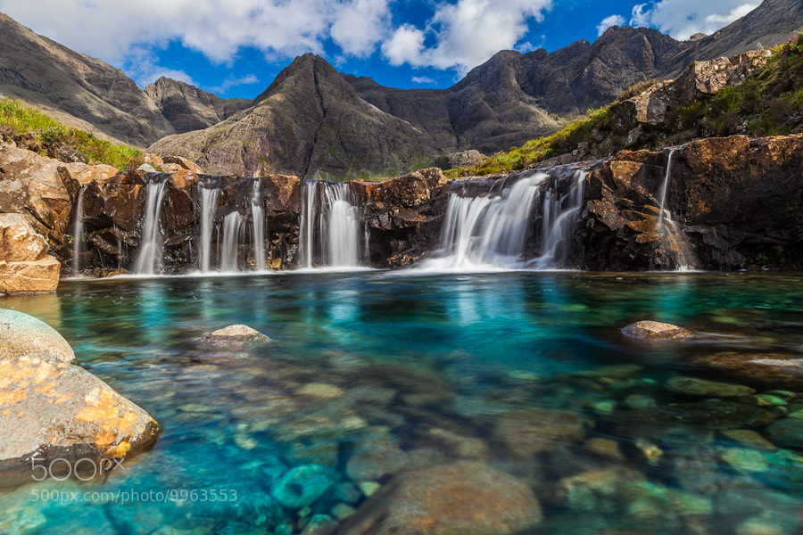 Photograph Fairy Pools at the Top by Sergio Del Rosso on 500px