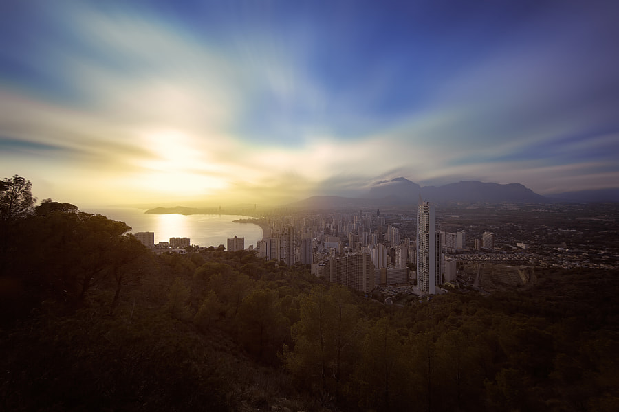 Photograph Benidorm at Sunset by efecreata photography on 500px