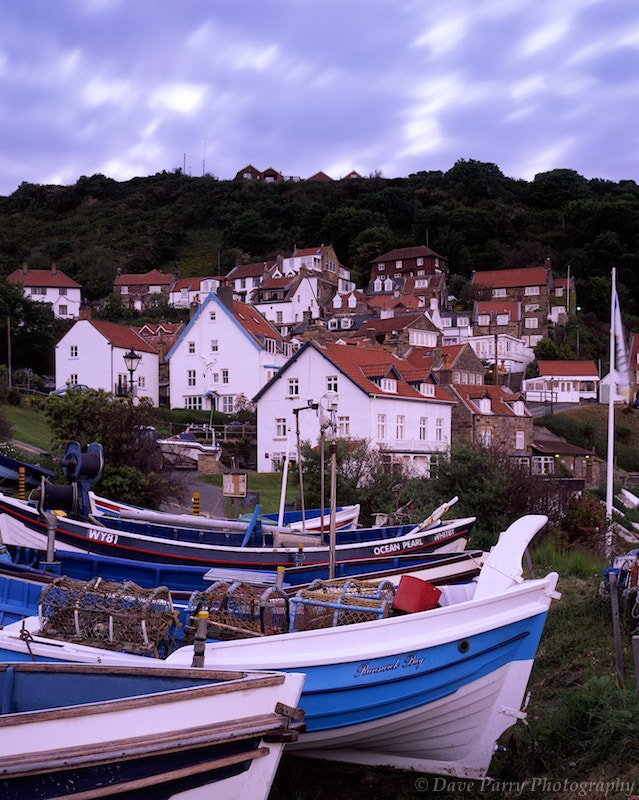 Photograph Staithes Houses & Boats by Dave Parry on 500px