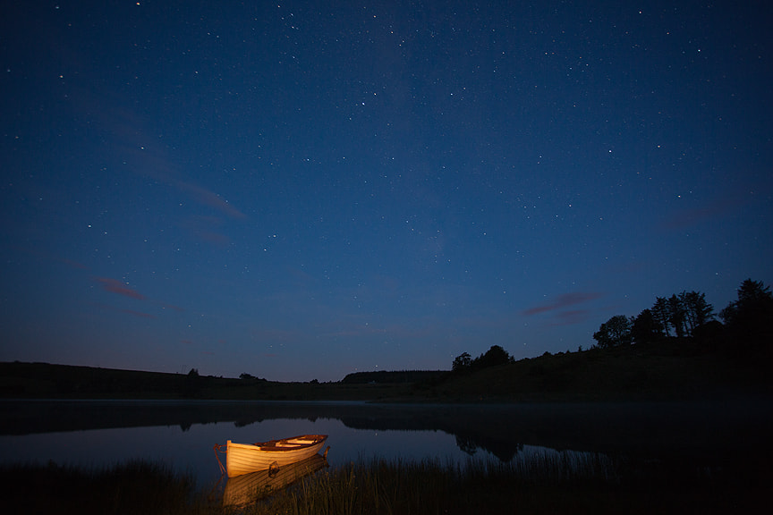 Photograph Lonesome Boat at 3a.m. by Kelvin Gillmor on 500px