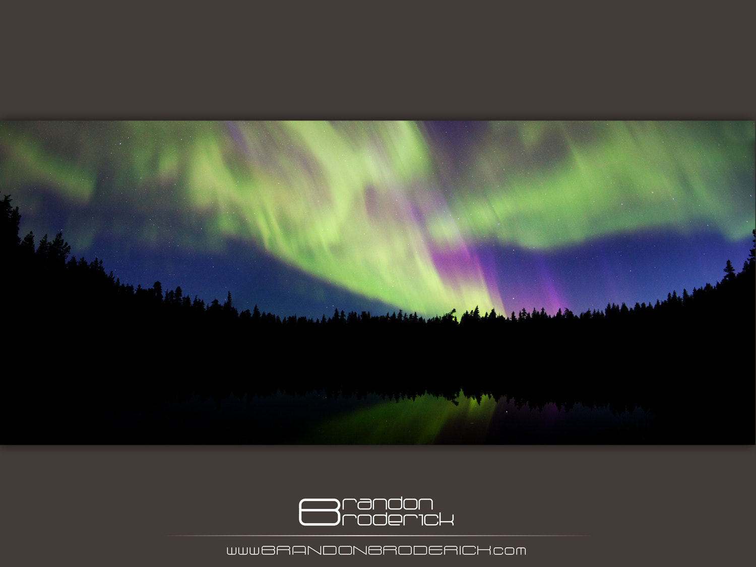 Photograph Aurora Reflections by Brandon Broderick on 500px