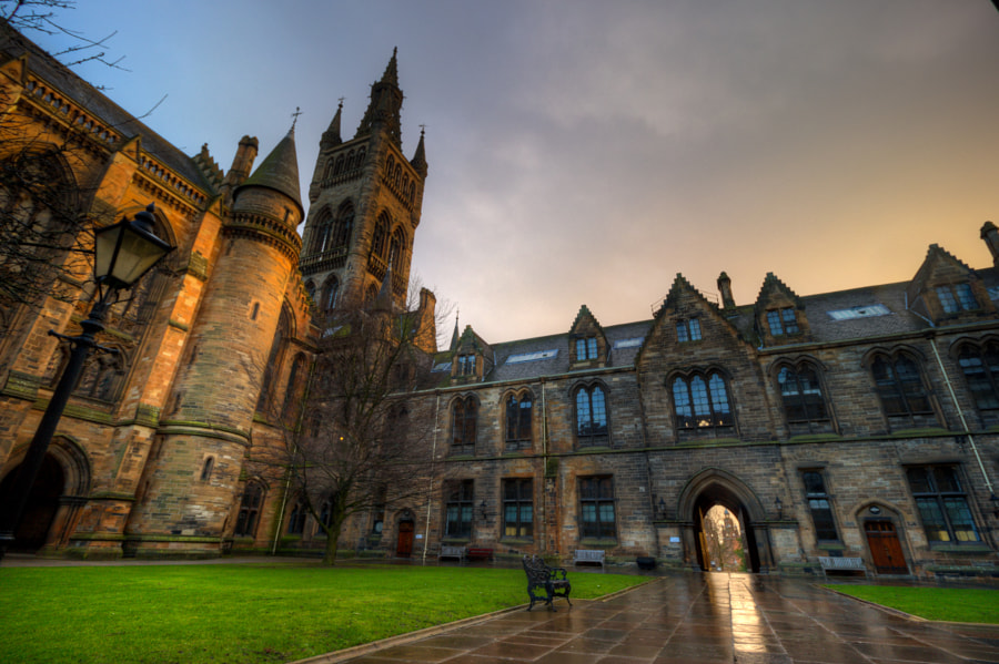 Photograph University of Glasgow by Mark Haldane on 500px