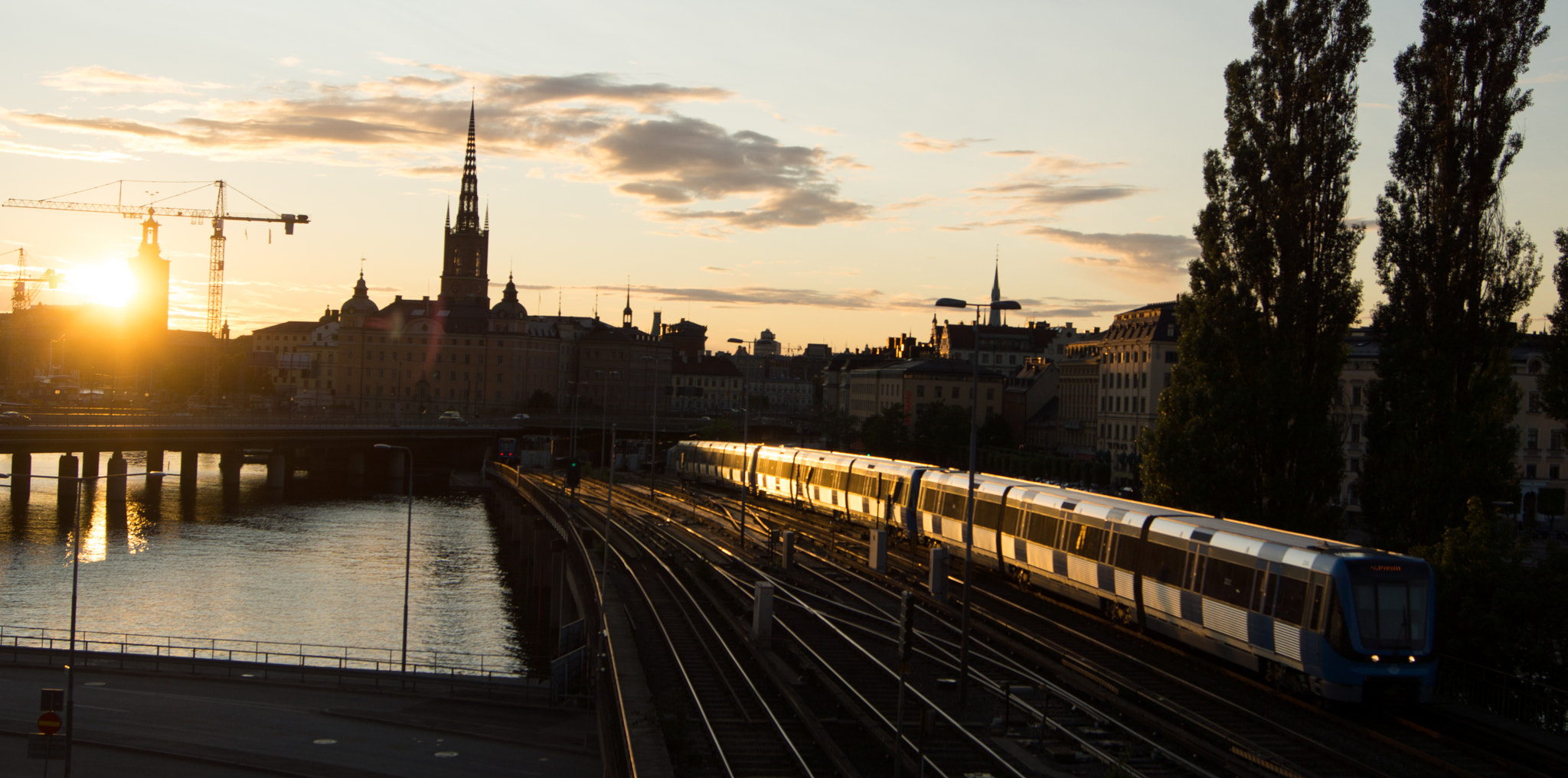 Photograph Stockholm in dusk by Johan Andersson on 500px
