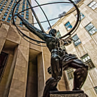 Постер, плакат: Atlas Rockefeller Center