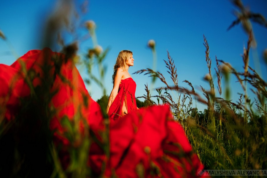 Photograph Red dress by Александра Малышева on 500px