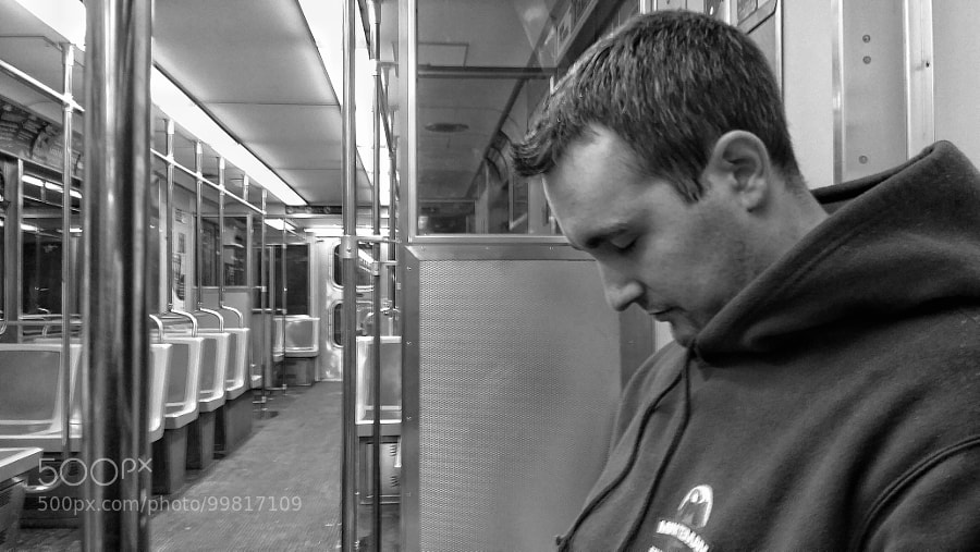 Sleepy On The Subway