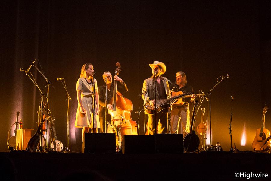 The broken circle bluegrass band
