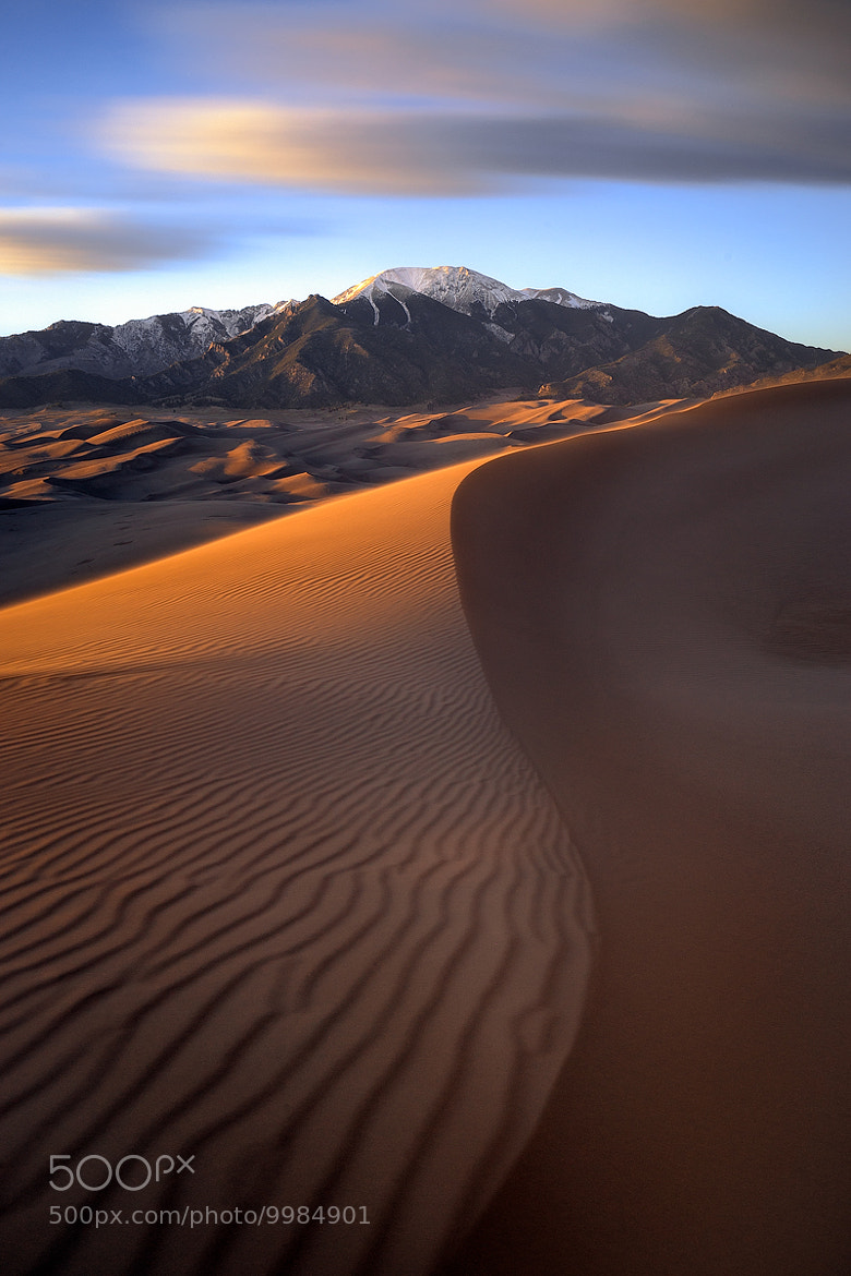 Photograph Sand Dunes Sunset by Paul James on 500px