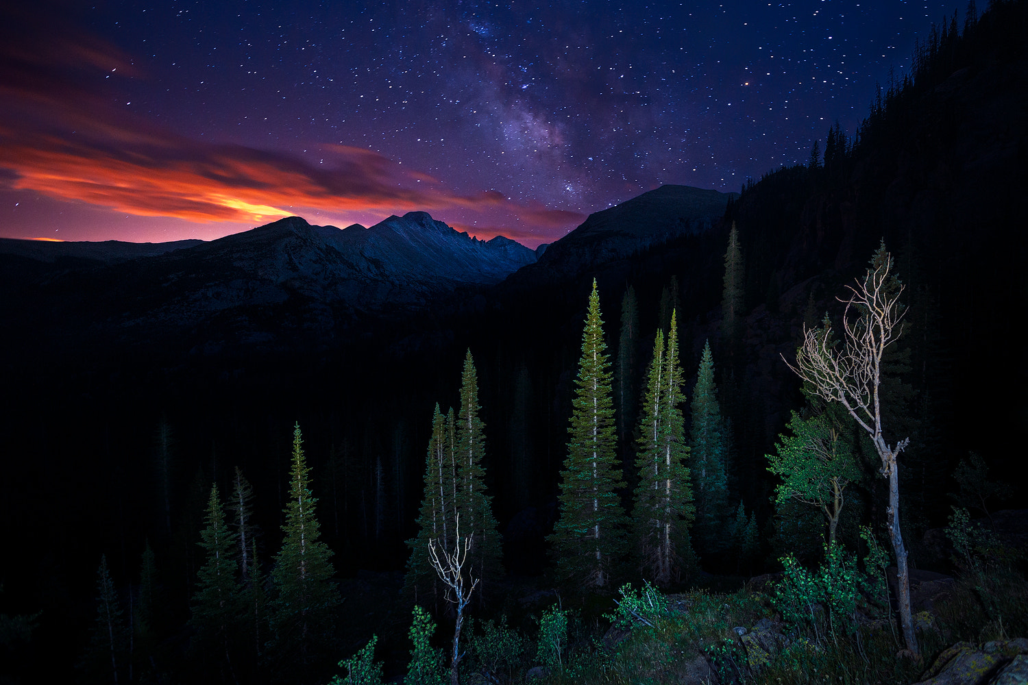 Photograph Elements of the Night by Paul James on 500px