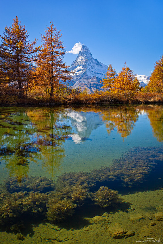Photograph Grindjsee Reflection by Andreas Resch on 500px